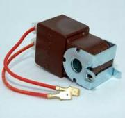 Solenoid with DC rectifier